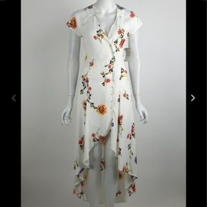 """Free People """"Lost In You"""" High-Low Floral Dress"""